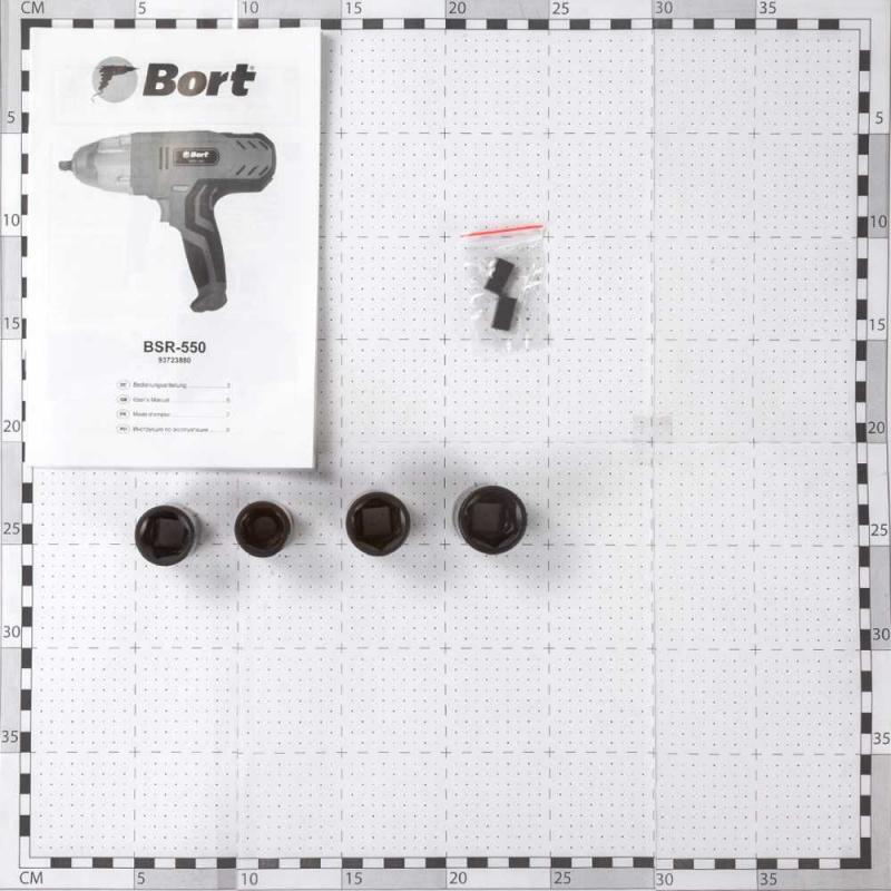 Гайковерт ударный Bort BSR-550 550Вт патрон:квадрат 1/2