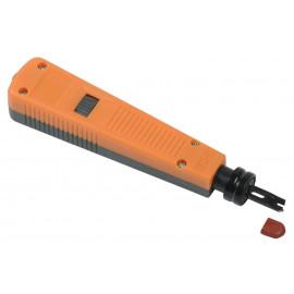 Инструмент забивной ITK TI1-G110-P для 110 кросса (упак:1шт) оранжевый
