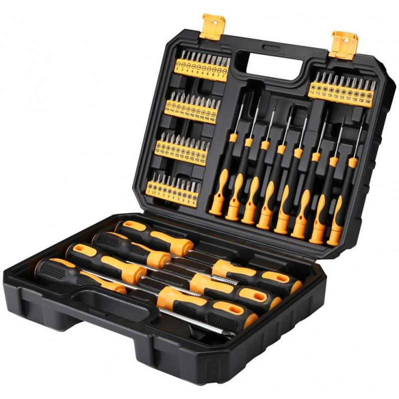 Набор инструментов Deko DKMT65 65 предметов (жесткий кейс)