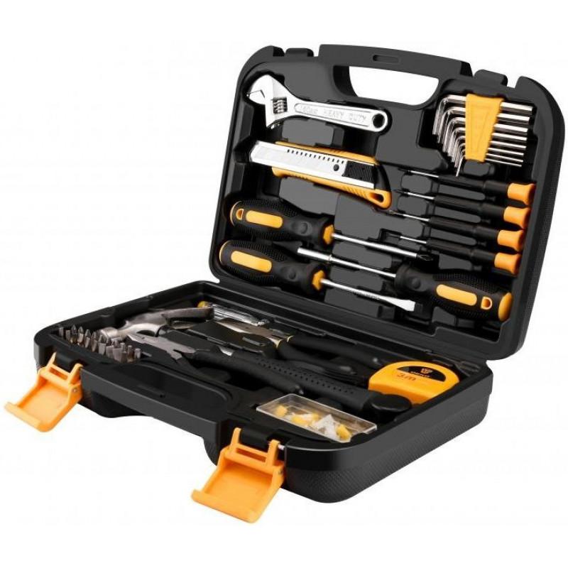Набор инструментов Deko TZ100 100 предметов (жесткий кейс)