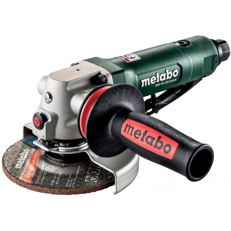 Шлифмашина угловая Metabo DW 10-125 Quick 500л/мин d=125мм шпинд.:14мм зеленый