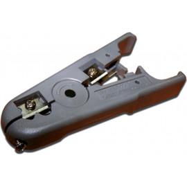 Инструмент Lanmaster TWT-STR-UTP для зачистки кабеля UTP (упак:1шт) серый
