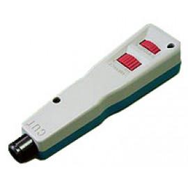 Инструмент обжимной Lanmaster LAN-PND для разделки контактов +без ножей (упак:1шт) белый