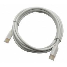 Кабель 1.2v miniDisplayPort (m) miniDisplayPort (m) 2м белый