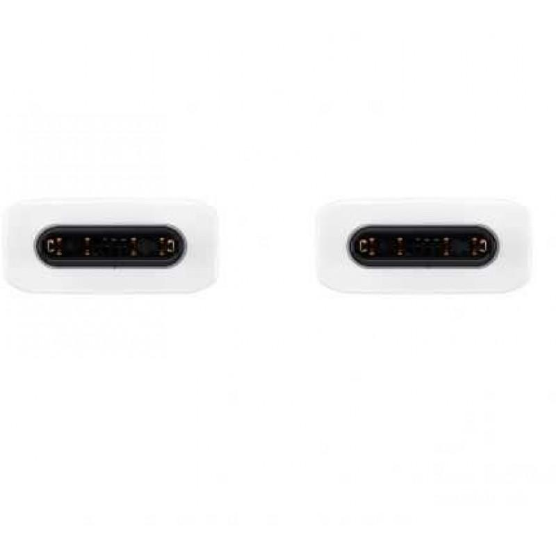 Кабель Samsung EP-DA705BWRGRU USB Type-C (m) USB Type-C (m) 1м белый (упак.:1шт)