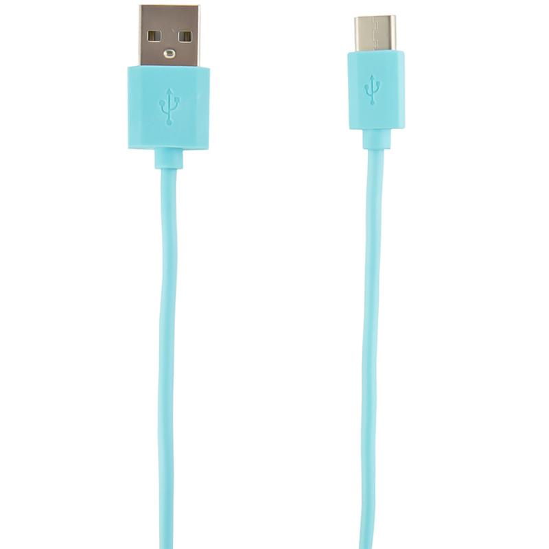 Кабель Redline УТ000011573 USB Type-C (m) USB A(m) 1м синий