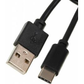 Кабель USB Type-C (m) USB A(m) 3м черный
