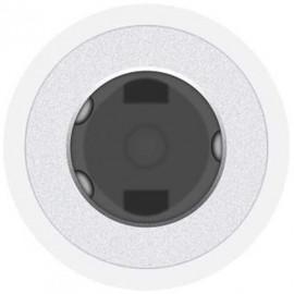 Переходник Apple MU7E2ZM/A Jack 3.5 (f)-USB Type-C (m) белый