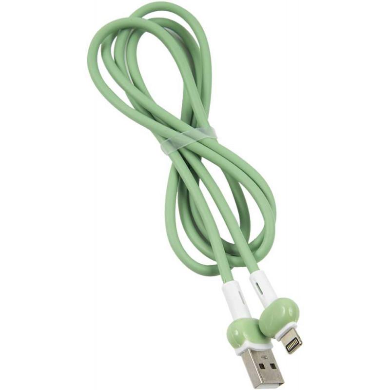Кабель Redline Candy УТ000021990 USB (m)-Lightning (m) 1м зеленый