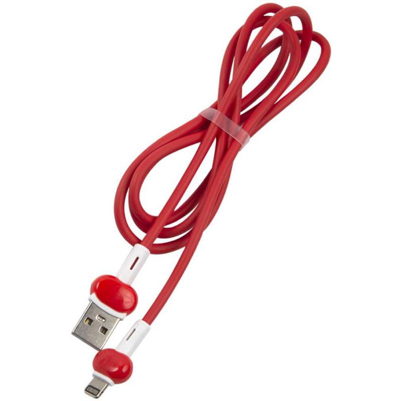 Кабель Redline Candy УТ000021989 Lightning (m) USB A(m) 1м красный