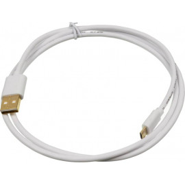 Кабель 2A Square micro USB B (m) USB A(m) 1м белый