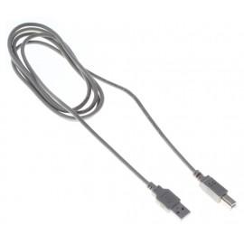 Кабель Buro BHP RET USB_BM18 USB A(m) USB B(m) 1.8м серый блистер