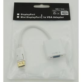 Переходник DisplayPort (m) VGA (f)