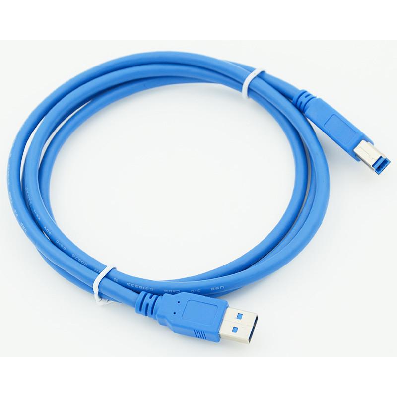 Кабель USB 3.0 A(m) USB 3.0 B (m) 1.5м синий