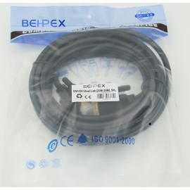Кабель DVI-D Dual Link (m) DVI-D Dual Link (m) 5м феррит.кольца черный