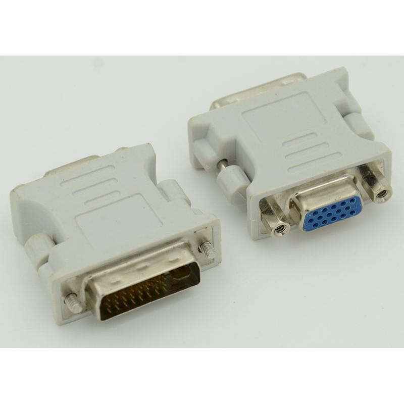 Переходник DVI-I(m) VGA (f) серый
