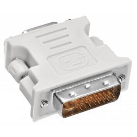 Адаптер Buro DVI-I(m) VGA (f)