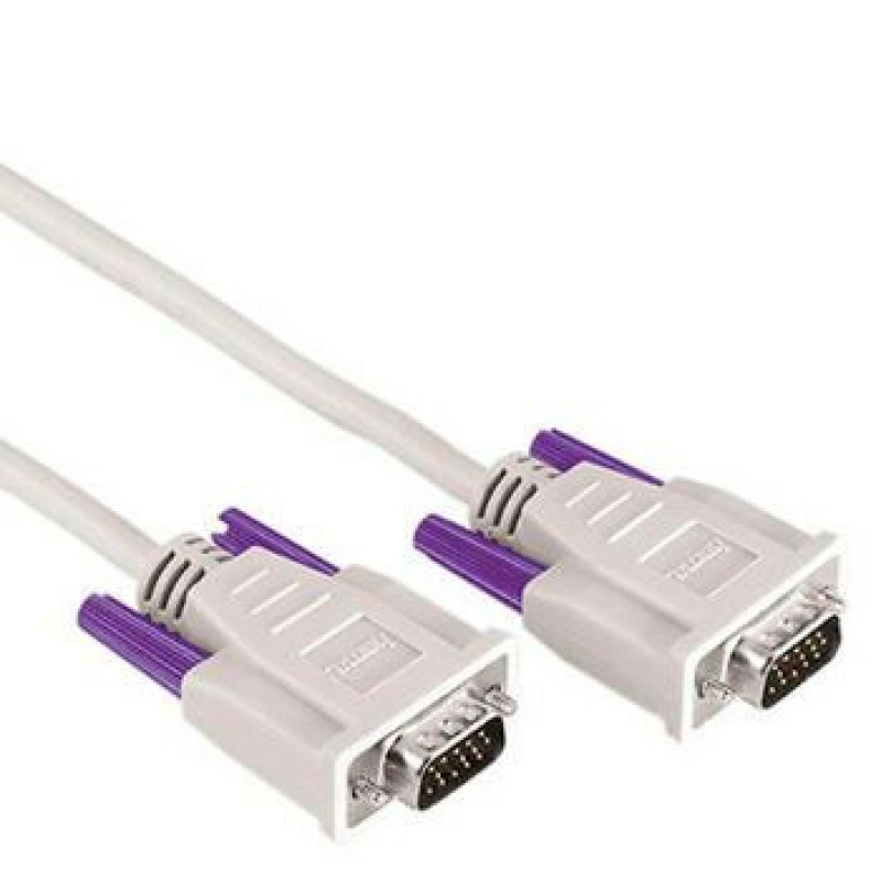 Кабель Hama H-42092 00042092 VGA (m) VGA (m) 5м серый