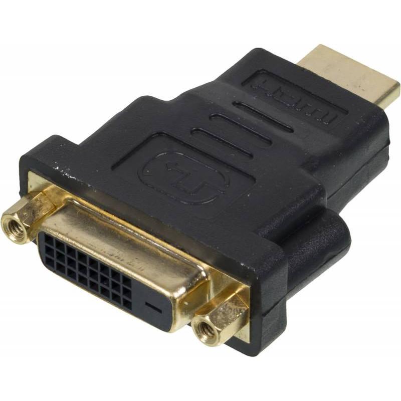 Переходник Ningbo CAB NIN HDMI(M)/DVI-D(F) HDMI (m) DVI-D (f) черный