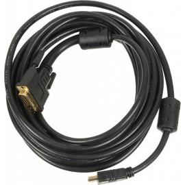 Кабель Ningbo DVI-D (m) HDMI (m) 5м феррит.кольца