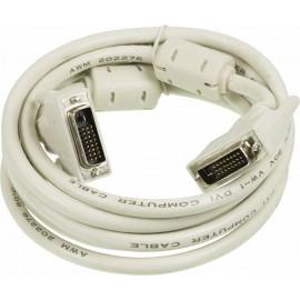Кабель Ningbo RD-DVI-3-BR DVI-D Dual Link (m) DVI-D Dual Link (m) 3м феррит.кольца серый блистер