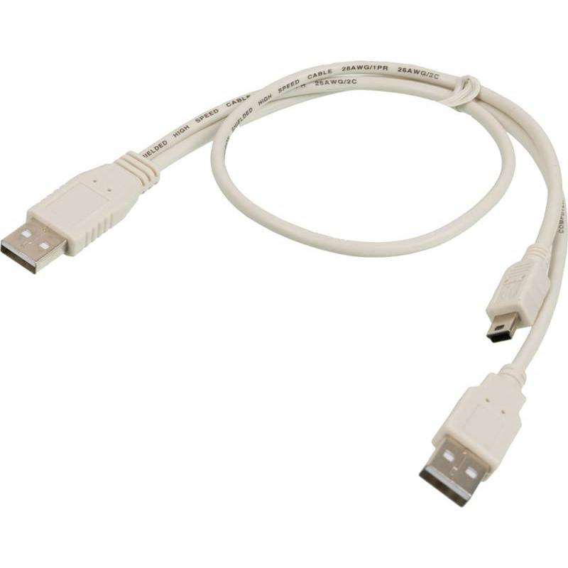 Кабель Ningbo USB A(m) mini USB B (m) 0.3м