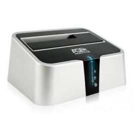 Док-станция для HDD AgeStar 3UBT2 SATA пластик серебристый 1