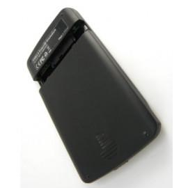 Внешний корпус для HDD/SSD AgeStar 3UB2A12 SATA пластик/алюминий черный 2.5