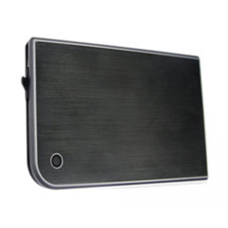 Внешний корпус для HDD/SSD AgeStar 3UB2A14 SATA II пластик/алюминий черный 2.5