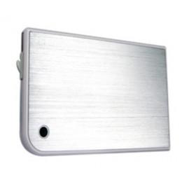 Внешний корпус для HDD/SSD AgeStar 3UB2A14 SATA II пластик/алюминий белый 2.5