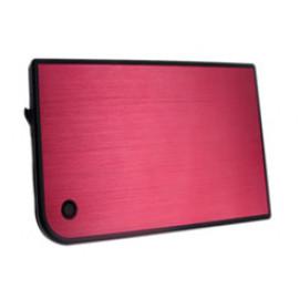 Внешний корпус для HDD/SSD AgeStar 3UB2A14 SATA II пластик/алюминий красный 2.5