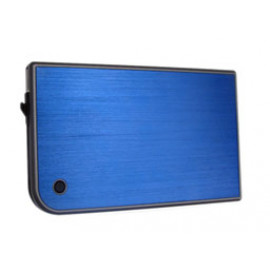 Внешний корпус для HDD/SSD AgeStar 3UB2A14 SATA II пластик/алюминий синий 2.5