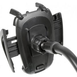 Держатель Redline HOL-12 черный для для смартфонов и навигаторов (УТ000018151)