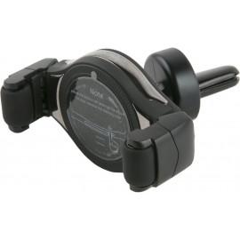 Держатель Redline Hol-06 магнитный беспров.з/у. черный для смартфонов (УТ000017092)