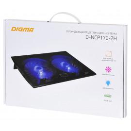 Подставка для ноутбука Digma D-NCP170-2H 17