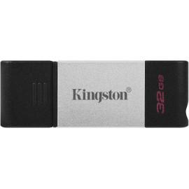 Флеш Диск Kingston 32Gb DataTraveler 80 DT80/32GB USB3.0 черный