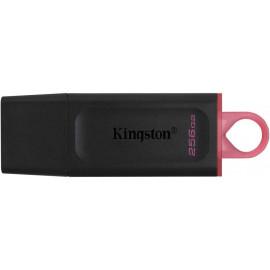 Флеш Диск Kingston 256Gb DataTraveler Exodia DTX/256GB USB3.2 черный/красный