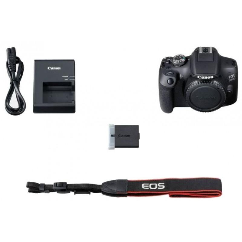 Зеркальный Фотоаппарат Canon EOS 2000D черный 24.1Mpix 18-55mm f/3.5-5.6 III 3
