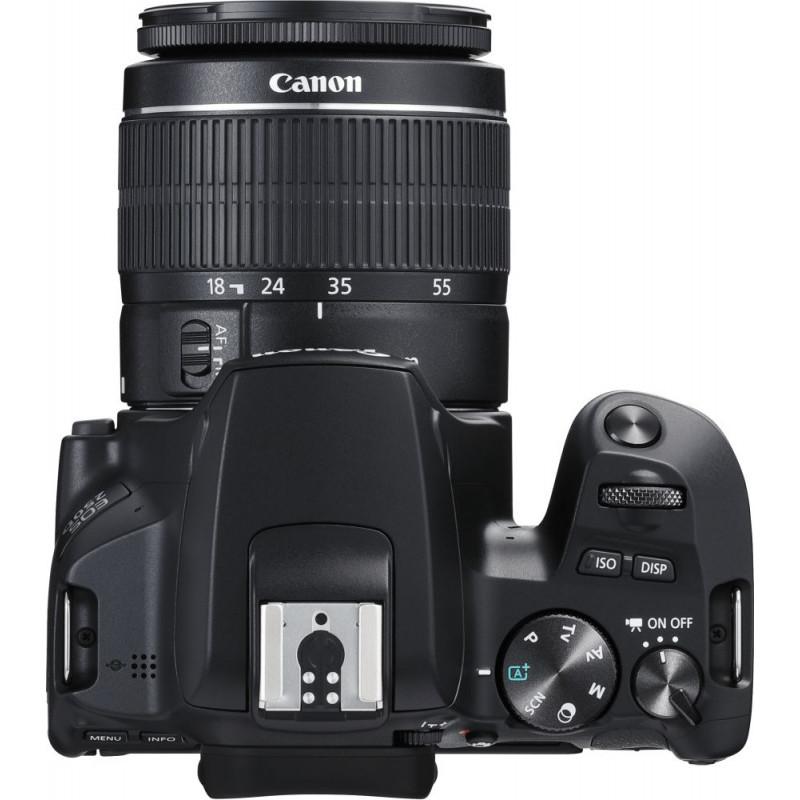 Зеркальный Фотоаппарат Canon EOS 250D черный 24.1Mpix EF-S 18-55mm f/1:4-5.6 IS STM 3