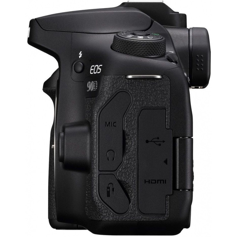 Зеркальный Фотоаппарат Canon EOS 90D черный 32.5Mpix 3