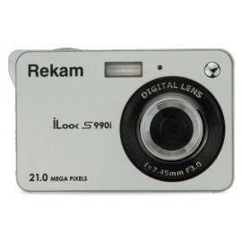 Фотоаппарат Rekam iLook S990i серебристый 21Mpix 2.7