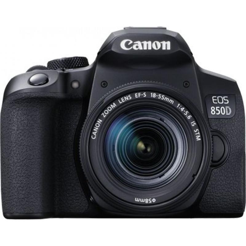 Зеркальный Фотоаппарат Canon EOS 850D черный 24.1Mpix EF-S 18-55mm f/4-5.6 IS STM 3