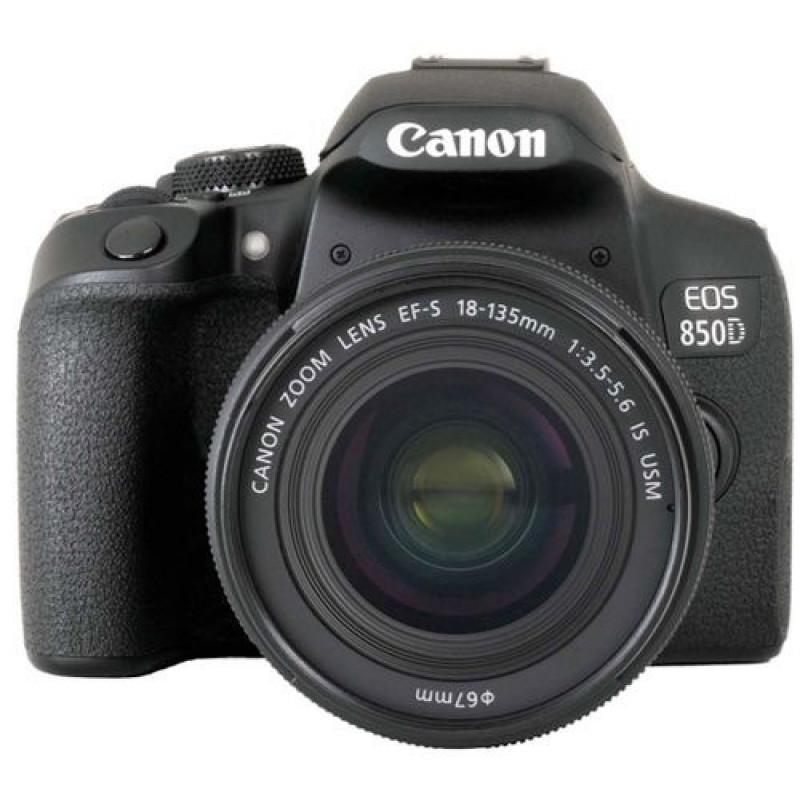 Зеркальный Фотоаппарат Canon EOS 850D черный 24.1Mpix EF-S 18-135mm f/3.5-5.6 IS USM 3