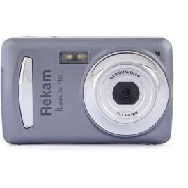 Фотоаппарат Rekam iLook S740i темно-серый 16Mpix 2.4