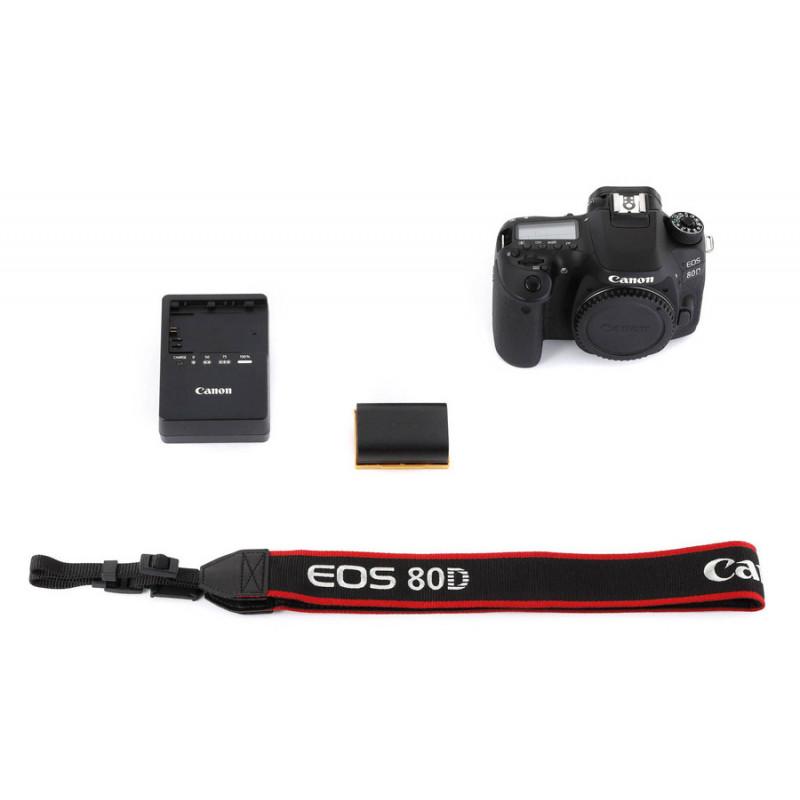 Зеркальный Фотоаппарат Canon EOS 80D черный 24.2Mpix 3