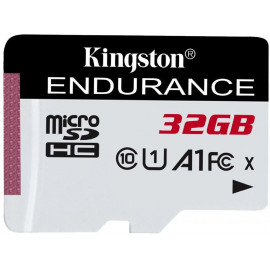 Флеш карта microSDHC 32Gb Class10 Kingston SDCE/32GB High Endurance w/o adapter