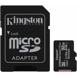 Флеш карта microSDHC 32Gb Class10 Kingston SDCS2/32GB Canvas Select Plus + adapter