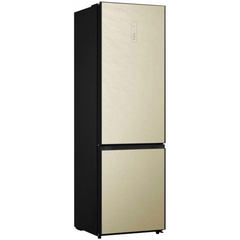 Холодильник Midea MRB519SFNGBE1 бежевый/черный (двухкамерный)