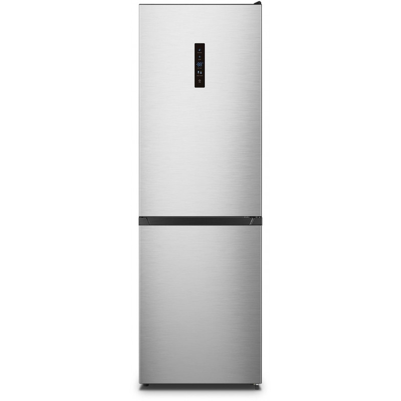 Холодильник Lex RFS 203 NF IX нержавеющая сталь (двухкамерный)