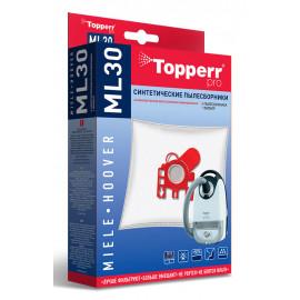Пылесборники Topperr ML30 сверхпрочные нетканые (4пылесбор.) (1фильт.)